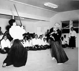 Aikido, Nobuyoshi Tamura ve Morihei Ueshiba